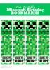 Free Printable Minecraft Birthday Bookmarks
