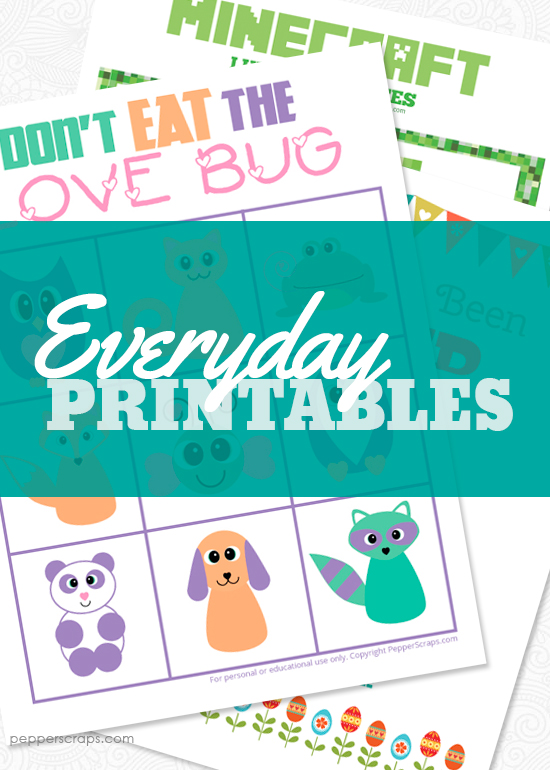 EveryDay Printables